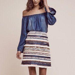 [Anthro] Moulinette Soeurs Erine fringed skirt 12